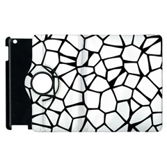 Seamless Cobblestone Texture Specular Opengameart Black White Apple Ipad 2 Flip 360 Case by Alisyart