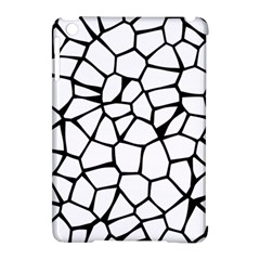 Seamless Cobblestone Texture Specular Opengameart Black White Apple Ipad Mini Hardshell Case (compatible With Smart Cover) by Alisyart