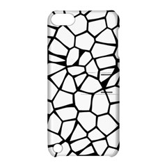 Seamless Cobblestone Texture Specular Opengameart Black White Apple Ipod Touch 5 Hardshell Case With Stand by Alisyart