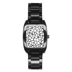 Seamless Cobblestone Texture Specular Opengameart Black White Stainless Steel Barrel Watch