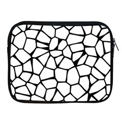 Seamless Cobblestone Texture Specular Opengameart Black White Apple Ipad 2/3/4 Zipper Cases by Alisyart