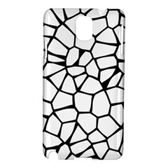 Seamless Cobblestone Texture Specular Opengameart Black White Samsung Galaxy Note 3 N9005 Hardshell Case