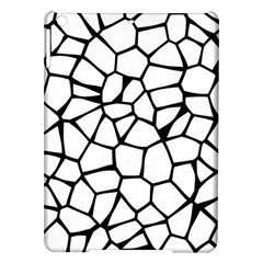 Seamless Cobblestone Texture Specular Opengameart Black White Ipad Air Hardshell Cases by Alisyart
