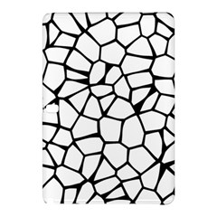 Seamless Cobblestone Texture Specular Opengameart Black White Samsung Galaxy Tab Pro 12 2 Hardshell Case by Alisyart