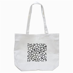 Seamless Cobblestone Texture Specular Opengameart Black White Tote Bag (white) by Alisyart