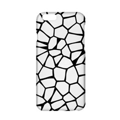 Seamless Cobblestone Texture Specular Opengameart Black White Apple Iphone 6/6s Hardshell Case by Alisyart