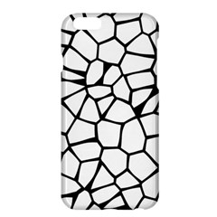 Seamless Cobblestone Texture Specular Opengameart Black White Apple Iphone 6 Plus/6s Plus Hardshell Case by Alisyart