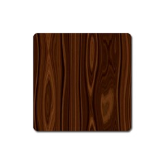 Texture Seamless Wood Brown Square Magnet