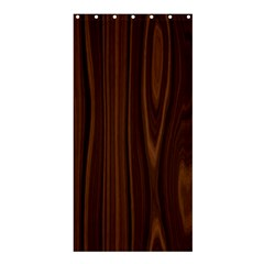 Texture Seamless Wood Brown Shower Curtain 36  X 72  (stall)