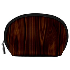 Texture Seamless Wood Brown Accessory Pouches (large)  by Alisyart