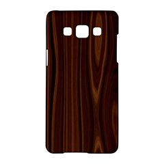Texture Seamless Wood Brown Samsung Galaxy A5 Hardshell Case  by Alisyart