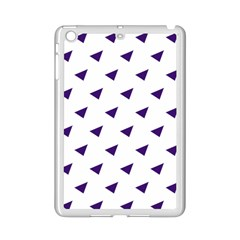 Triangle Purple Blue White Ipad Mini 2 Enamel Coated Cases