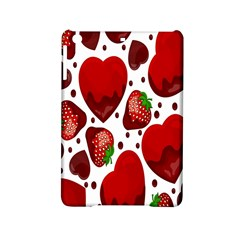 Strawberry Hearts Cocolate Love Valentine Pink Fruit Red Ipad Mini 2 Hardshell Cases by Alisyart