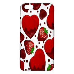 Strawberry Hearts Cocolate Love Valentine Pink Fruit Red Iphone 6 Plus/6s Plus Tpu Case