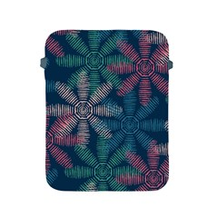 Spring Flower Red Grey Green Blue Apple Ipad 2/3/4 Protective Soft Cases by Alisyart