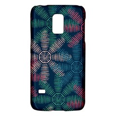 Spring Flower Red Grey Green Blue Galaxy S5 Mini