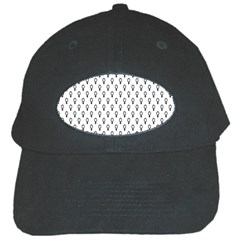 Woman Plus Sign Black Cap
