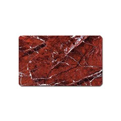 Texture Stone Red Magnet (name Card) by Alisyart