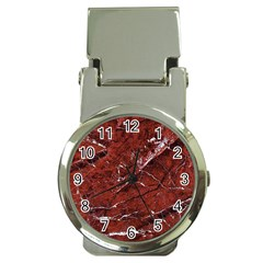 Texture Stone Red Money Clip Watches by Alisyart