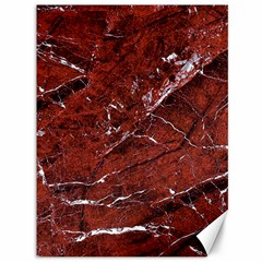 Texture Stone Red Canvas 36  X 48   by Alisyart