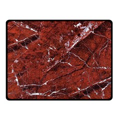Texture Stone Red Fleece Blanket (small) by Alisyart