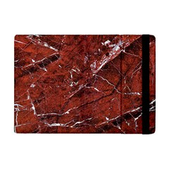 Texture Stone Red Apple Ipad Mini Flip Case