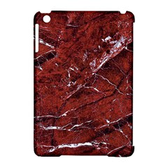 Texture Stone Red Apple Ipad Mini Hardshell Case (compatible With Smart Cover)