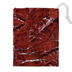 Texture Stone Red Drawstring Pouches (xxl) by Alisyart