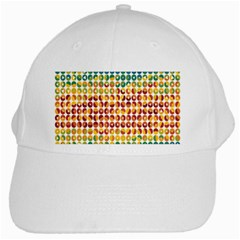Weather Blue Orange Green Yellow Circle Triangle White Cap by Alisyart