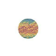 Weather Blue Orange Green Yellow Circle Triangle 1  Mini Buttons