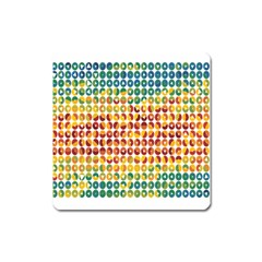 Weather Blue Orange Green Yellow Circle Triangle Square Magnet