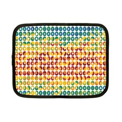 Weather Blue Orange Green Yellow Circle Triangle Netbook Case (Small)