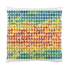 Weather Blue Orange Green Yellow Circle Triangle Standard Cushion Case (one Side)