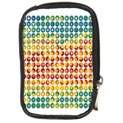 Weather Blue Orange Green Yellow Circle Triangle Compact Camera Cases
