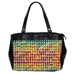 Weather Blue Orange Green Yellow Circle Triangle Office Handbags