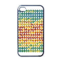 Weather Blue Orange Green Yellow Circle Triangle Apple Iphone 4 Case (black) by Alisyart