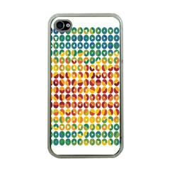 Weather Blue Orange Green Yellow Circle Triangle Apple iPhone 4 Case (Clear)