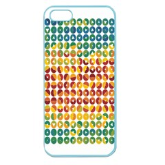 Weather Blue Orange Green Yellow Circle Triangle Apple Seamless iPhone 5 Case (Color)
