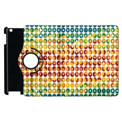 Weather Blue Orange Green Yellow Circle Triangle Apple Ipad 2 Flip 360 Case by Alisyart