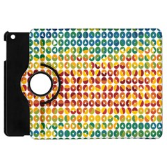 Weather Blue Orange Green Yellow Circle Triangle Apple Ipad Mini Flip 360 Case by Alisyart