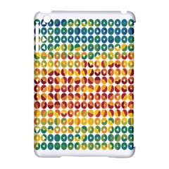Weather Blue Orange Green Yellow Circle Triangle Apple iPad Mini Hardshell Case (Compatible with Smart Cover)