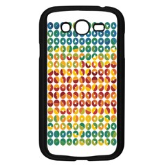 Weather Blue Orange Green Yellow Circle Triangle Samsung Galaxy Grand DUOS I9082 Case (Black)