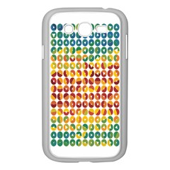 Weather Blue Orange Green Yellow Circle Triangle Samsung Galaxy Grand Duos I9082 Case (white) by Alisyart