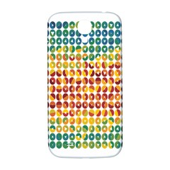 Weather Blue Orange Green Yellow Circle Triangle Samsung Galaxy S4 I9500/i9505  Hardshell Back Case by Alisyart
