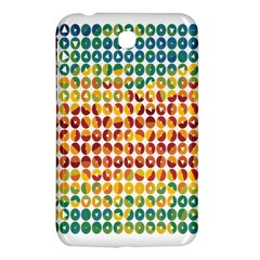 Weather Blue Orange Green Yellow Circle Triangle Samsung Galaxy Tab 3 (7 ) P3200 Hardshell Case