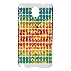 Weather Blue Orange Green Yellow Circle Triangle Samsung Galaxy Note 3 N9005 Hardshell Case