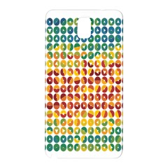 Weather Blue Orange Green Yellow Circle Triangle Samsung Galaxy Note 3 N9005 Hardshell Back Case