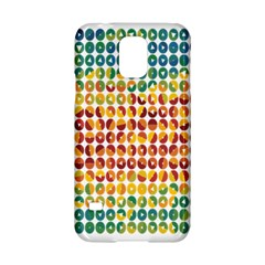 Weather Blue Orange Green Yellow Circle Triangle Samsung Galaxy S5 Hardshell Case
