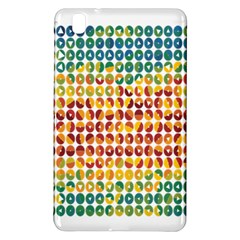 Weather Blue Orange Green Yellow Circle Triangle Samsung Galaxy Tab Pro 8.4 Hardshell Case