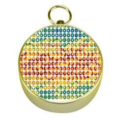Weather Blue Orange Green Yellow Circle Triangle Gold Compasses